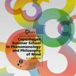 【暑期課程】   2019 Copenhagen Summer School in  Phenomenology and Philosophy of Mind